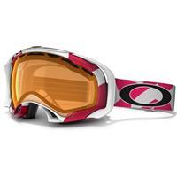 Factory Slant Lava Frame / Persimmon Lens (57 143) Oakley Splice Goggle