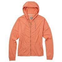 Light Orange Heather Burton Favorite Full Zip Hoodie Womens
