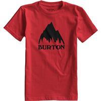 Fiery Red Burton Classic Mountain SS Tee Boys