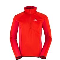 Fiery Red Eider Wonder 1/2 Zip Mens