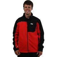 Fiery Red Helly Hansen Rift Fleece Jacket Mens