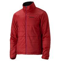 Fire / Dark Crimson Marmot Bastione Component Jacket Mens (Liner)