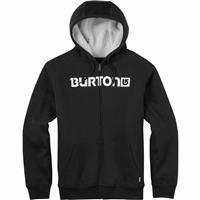 True Black (17) Burton Fireside Full Zip Hoodie Mens