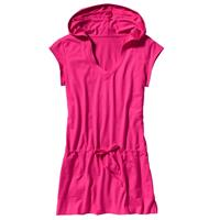 Flash Pink Patagonia Short Sleeved After Sun Hoody Womens