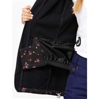 Floral / Black Roxy Rainbow Softshell Jacket Womens