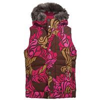 Floral Camo Chestnut Burton Paradise Vest – Girls