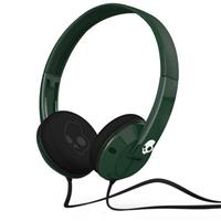 Forest Green / White / White Skullcandy Uprock Headphones