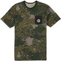 Forestnight Hawaiian Burton Fox Peak Short Sleeve T Shirt Mens