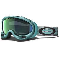 Fresh Mint Frame / Emerald Iridium Lens (57 387) Oakley A Frame Goggle