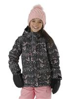 Columbia Horizon Ride Jacket - Girl's - Plum Folk Floral