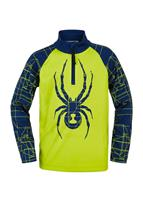 Spyder Maze Zip T-Neck - Youth Boy's