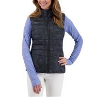 Obermeyer Nieve Down Vest - Women's - Dark Denim Camo (20105)