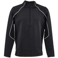 Spyder Halcyon Zip T Neck - Men's - Black / White