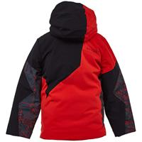 Spyder Ambush Jacket - Boy's - Volcano Network Print
