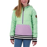 Obermeyer Peri Down Anorak - Girl's (Teen) - Neo Mint (20084)