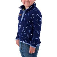 Obermeyer Kid's Boulder Fleece - Youth - Tracks (20109)