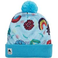 Burton Printed Pom Beanie - Youth - Embroidered Floral