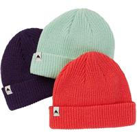 Burton DND Beanie 3-Pack - Youth - Parachute Purple / Faded Jade / Hibiscus Pink