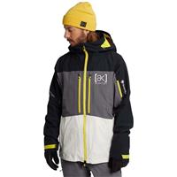 Burton AK GORE‑TEX Swash Jacket - Men's - True Black / Castlerock / White Mist