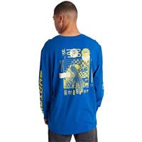 Burton Alberta Long Sleeve T-Shirt - Men's - Lapis Blue