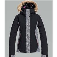 Roxy Jet Ski Jacket - Women's - True Black Pop Animal