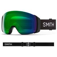 Smith 4D Mag Google - Black Frame w/ CP Everyday Green Mirror + CP Storm Rose Flash lenses (M007322QJ99)