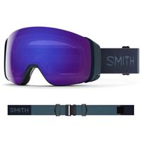 Smith 4D Mag Google - French Navy Frame w/ CP Everyday Violet + CP Storm Rose Flash lenses (M007322R799)