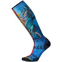 Smartwool PhD Ski Ultra Light Print Socks - Women's