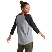 Burton Ashmore Raglan Long Sleeve T-Shirt - Women's - Grey Heather / Phantom