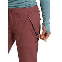 Burton Vida Pant - Women's - Rose Brown