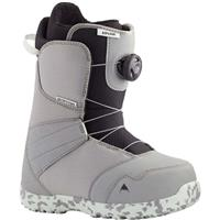 Burton Zipline Boa Boot - Youth - Gray / Neo-Mint