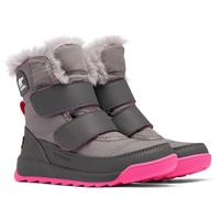 Sorel Children's Whitney II Strap Boot - Youth - Quarry