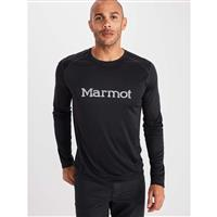 Marmot Windridge with Graphic LS - Men's - Black / Sleet