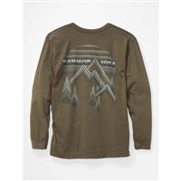 Marmot Cervin Tee LS - Men's - Olive Heather