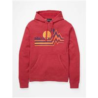 Marmot Piste Hoody - Men's - Brick Heather