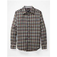 Marmot Fairfax Midweight Flannel LS - Men's - Brown