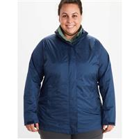 Marmot PreCip Eco Jacket - Women's (Plus Size) - Arctic Navy