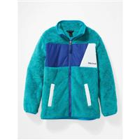 Marmot Roland Fleece - Youth - Enamel Blue / Royal Night