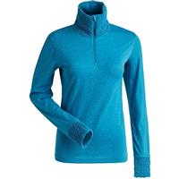 Nils Holly 1/4 Zip T-Neck - Women's - Teal