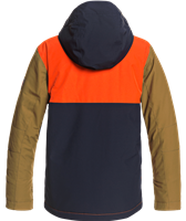 Quiksilver Side Hit Jacket - Boy's - Pureed Pumpkin (NZE0)