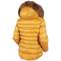Sunice Fiona Jacket With Real Fur - Women's - Golden Glow