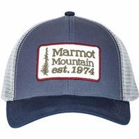 Arctic Navy Marmot Retro Trucker Hat Mens