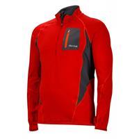 Team Red / Slate Grey Marmot Elance 1/2 Zip LS Mens