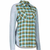 Fir Green Marmot Lani Flannel LS Womens