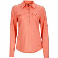 Coral Marmot Allie LS Womens