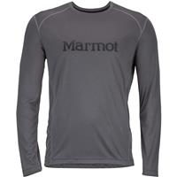 Slate Grey / Black Marmot Windridge with Graphic LS Mens