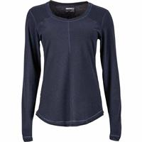 Dark Steel Marmot Molly LS Womens