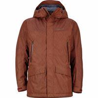 Marsala Brown Marmot Doublejack Jacket Mens