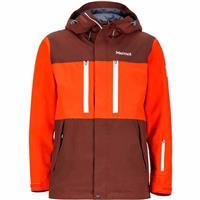 Marsala Brown / Mars Orange Marmot Sugarbush Jacket Mens