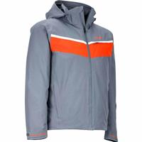 Steel Onyx / Mars Orange Marmot Paragon Jacket Mens